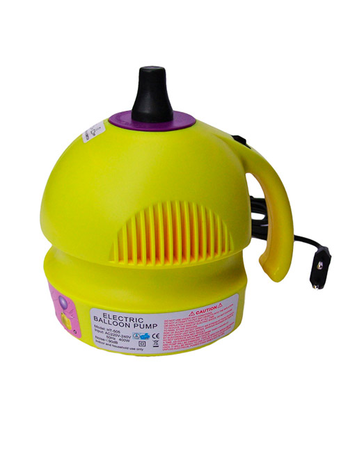 Hinchador Electrico para Globos Mini Amarillo