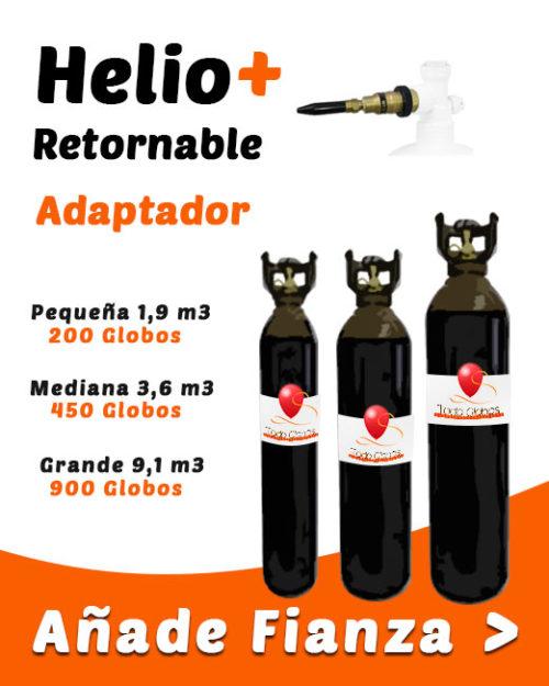 Helio Globos Retornable