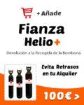 fianza para helio retornable globos