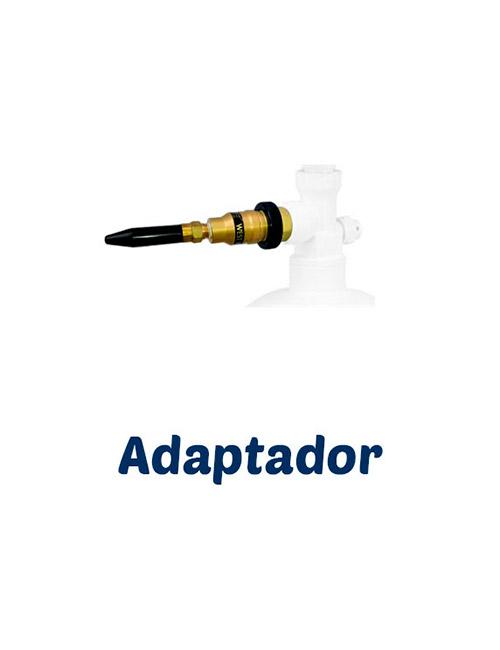 Adaptador para Botellas de Helio Retornables