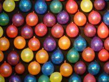 globos de agua