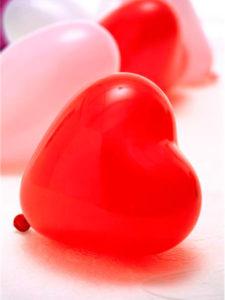 Globos Fiestas Corazon Forma Rojos 36 cm 10 globos