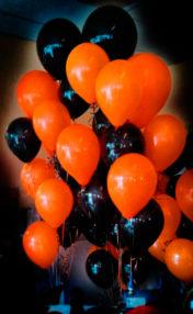 decoracion-de-halloween globos