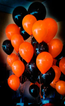 decoracion-de-halloween globos