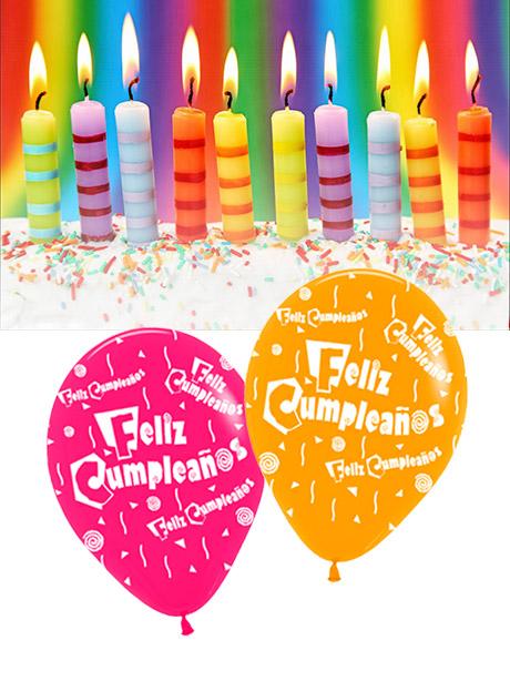 globos fiestas feliz cumpleaos