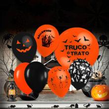 globos halloween diseño