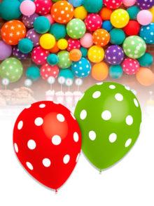 globos lunares para fiestas