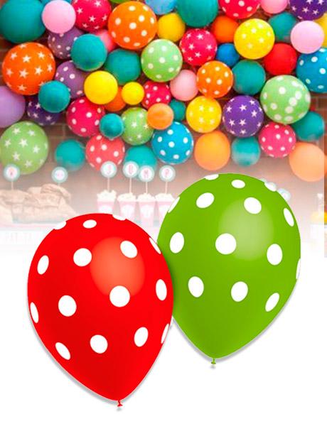 Globos Fiestas Lunares 25 globos