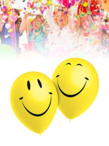 Globos Fiestas Smiley Sonrisa