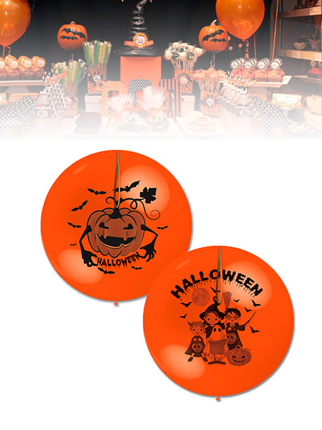 Globos Punch Ball Halloween