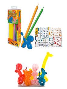 Globoflexia Kit globos + inflador + instrucciones