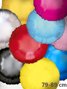 Globos de Helio Redondos Lisos
