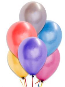 comprar globos lisos metalizados