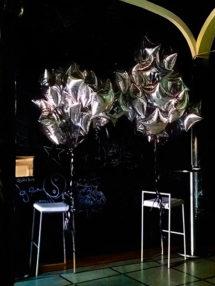 Globos de Helio Estrella Lisos 42cm