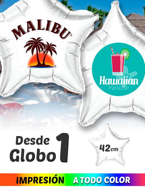 Globos de Helio Personalizados Estrella Ramos A Todo Color 42 cm