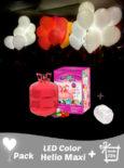pack led de colores mas helio maxi