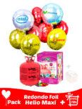 pack poliamida redondo personalizados mas helio maxi