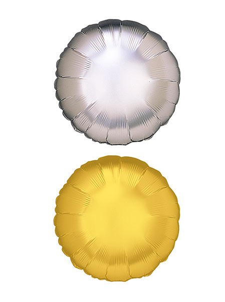 colores globo redondo de helio poliamida 76 cm