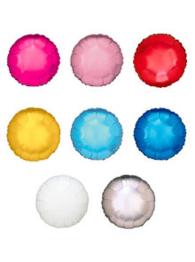 colores globos de helio redondos