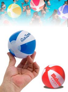 Pelotas Mini Playa Personalizados Gajos 9 cm