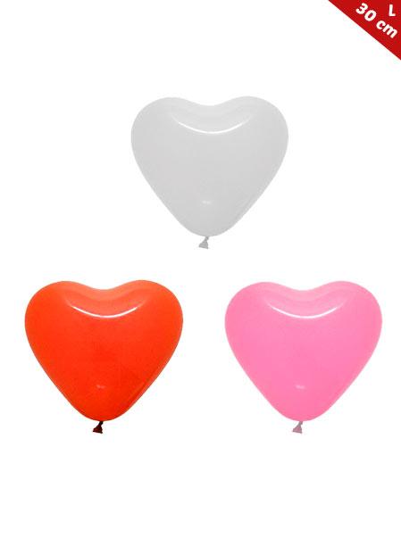 Globos Corazón Personalizados Latex 30 cm