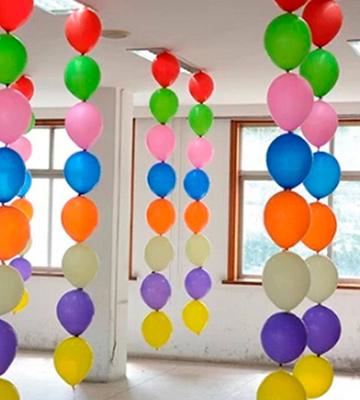 Decoraci n globos oficinas todo globos publicitarios for Decoracion de oficinas sencillas