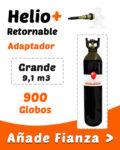 Helio Globos Retornable Grande