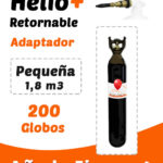 Helio Globos Retornable Pequeña