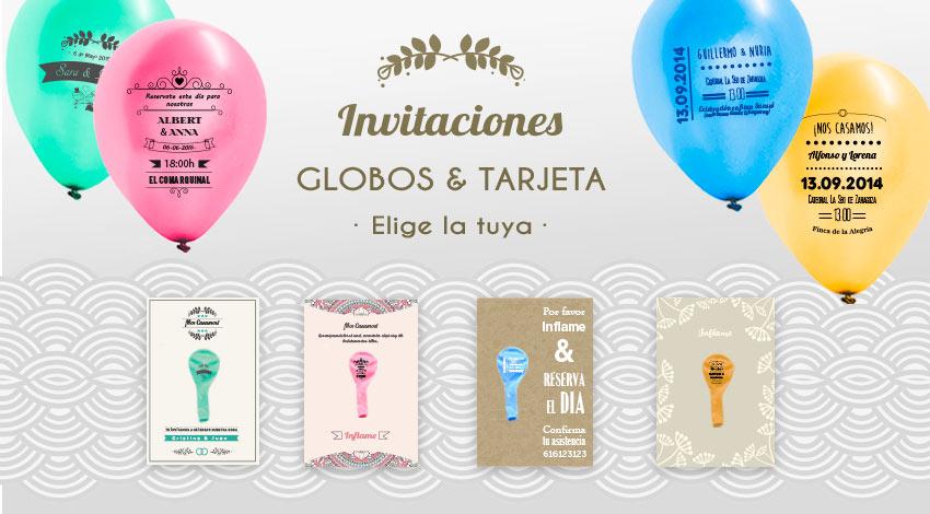invitaciones-boda-globos personalizados