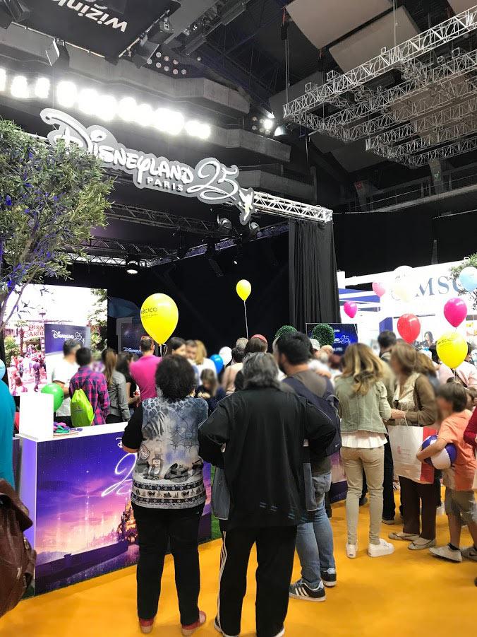 Evento Wizink Feria del Viaje de Madrid