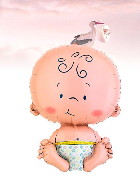Globo de Helio Nacimiento Bebé Recién Nacido