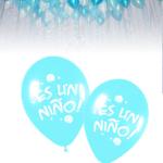 10 Globos Nacimiento Es una Niño!