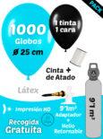 1000 globos mas botella retornable