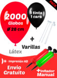 2000 globos
